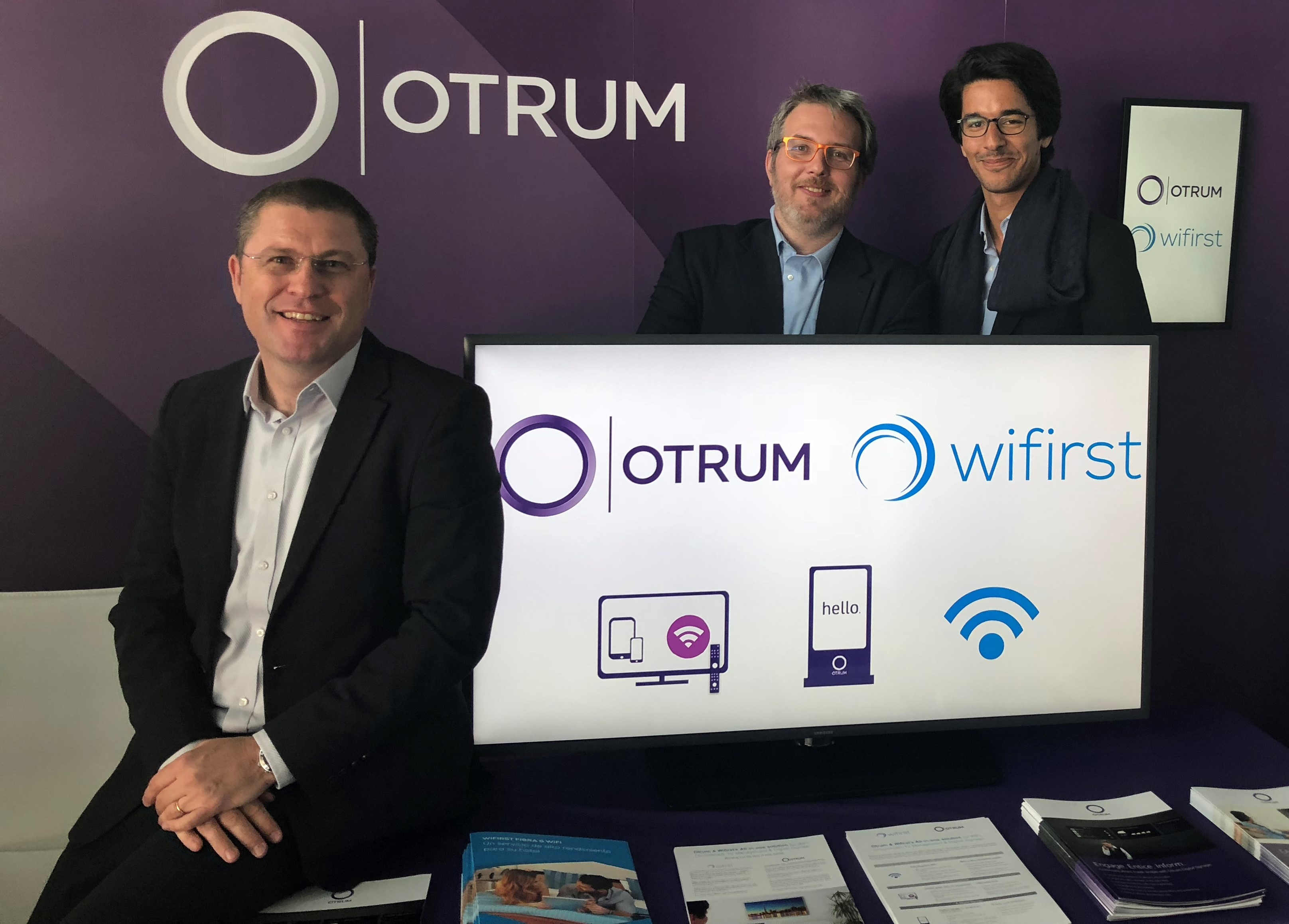 OTRUM AS | Wifirst and Otrum join forces to offer an all-in